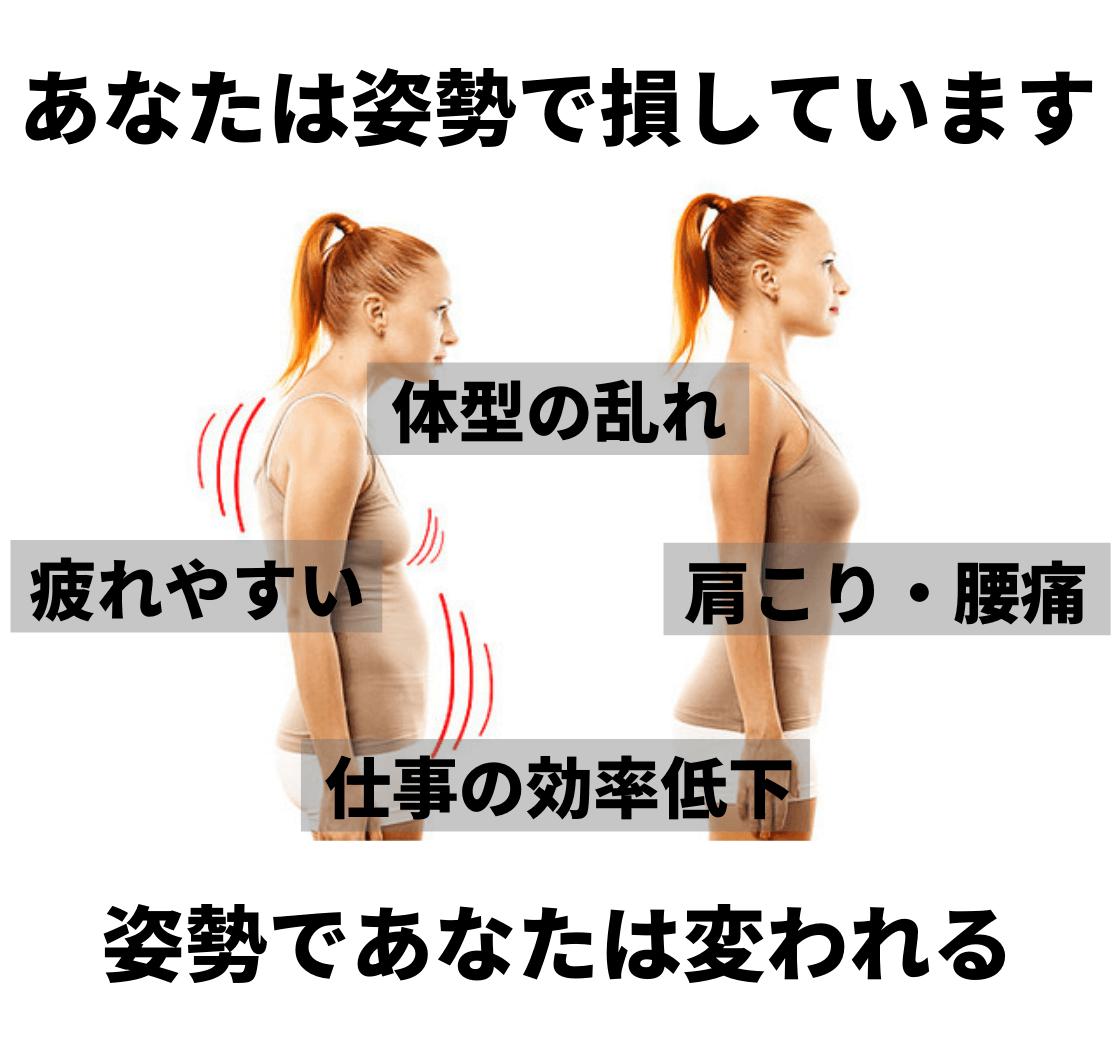 あなたは姿勢で損しています (2)